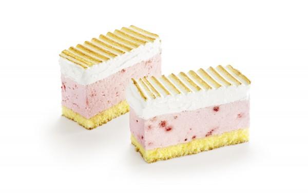 Erdbeerjoghurtschnitte