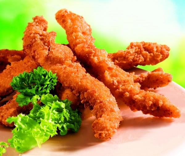 Chicken-Frites paniert